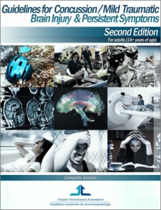 Sept 2013 neuro trauma foundation Guidelines for management of mTBI